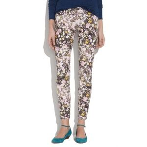 Madewell Skinny Skinny Ankle Jeans in Floral 27